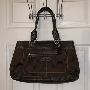 Authentic Coach Purse (barely used like new)